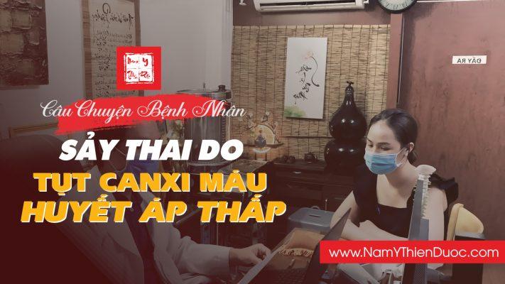 Sảy Thai do Tụt Canxi Máu và Huyết Áp Thấp